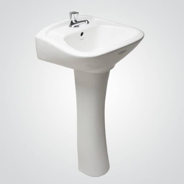 Lavamanos caburga pedestal al piso fanaloza ba o for Lavamanos con pedestal