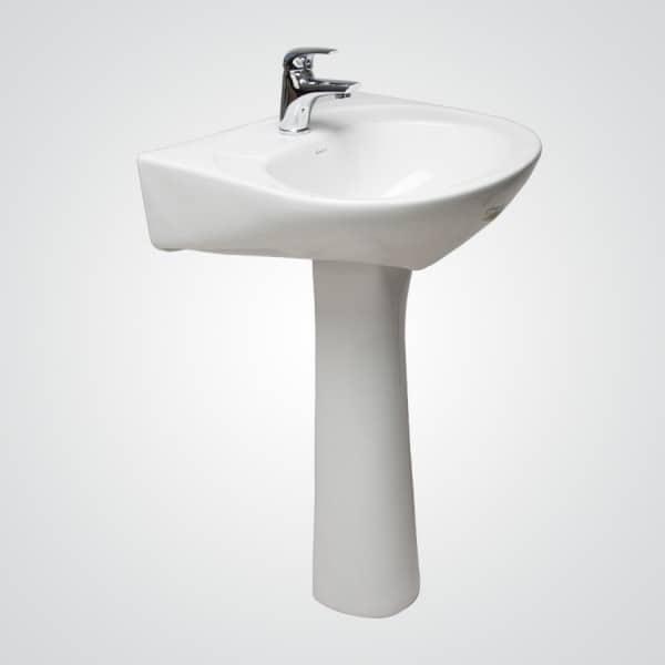Lavamanos p mpano pedestal al piso fanaloza ba o for Lavamanos con pedestal