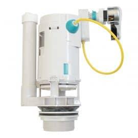 Válvula de descarga dual flush con manilla incorporada